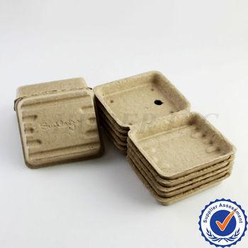 dispasable paper pulp food packaging