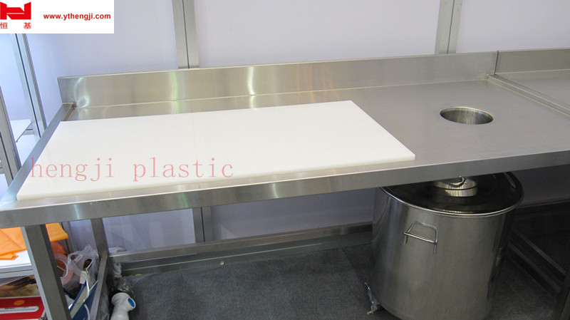 clear flexible hot sale large bucher pe chopping blocks board