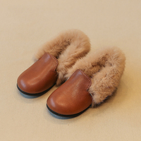 children autumn girls booties leather shoes