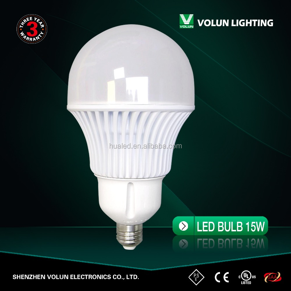 Plastic+Aluminum E22 Led Bulb 9w 12w 15w 18w, e27 led light lamp