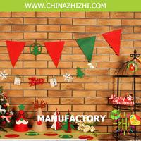 home/ christmas felt decoration, show pieces for home felt decoration