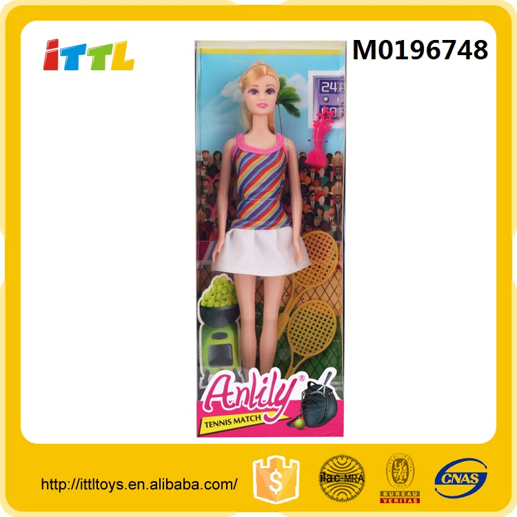 11.5 inch Vinyl fashion girl doll