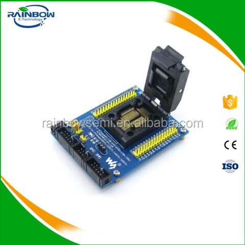 M64+ ADP AVR Programming Adapter IC Test Socket for ATmega64 ATmega128 TQFP64