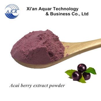 Factory direct supply of high purity organic acai fruit extract / acai fruit powder