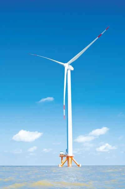 high quality 5MW 6MW Wind Turbine on shore and offshore
