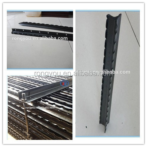 cheap Low carbon steel Israel fencing post use for livestock farm fence