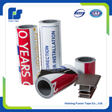 adhesive plastic film black and white protective tape for aluminum panel