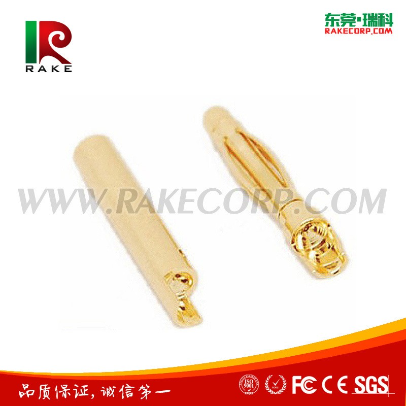 High Quality Gold Plated 2mm Banana Plug Female and Male