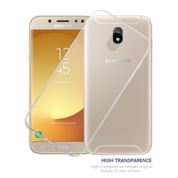 Crystal Clear Ultra Slim Cover Scratch Resistant Transparent Soft TPU Case for Samsung J5 2017