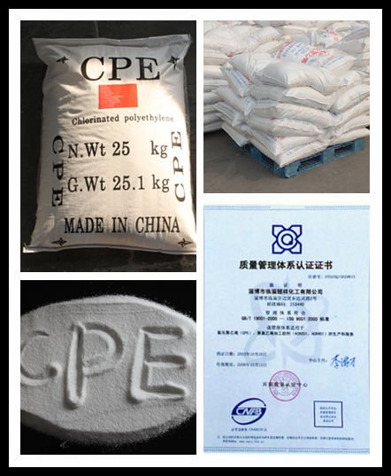 Flame retardant additives in ABS compound (CPE135A )