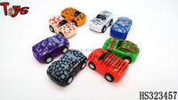 very popular colorful mini kids plastic car gift