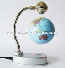 Fancy promotional gift magnetic golbe W-8008