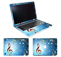 High quality custom laptop full color skin for macbook with oem design