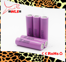3.7V samsung sdi 18650 rechargeable battery 2600mah samsung 26F A Original samsung lithium ion battery cell 18650 26650