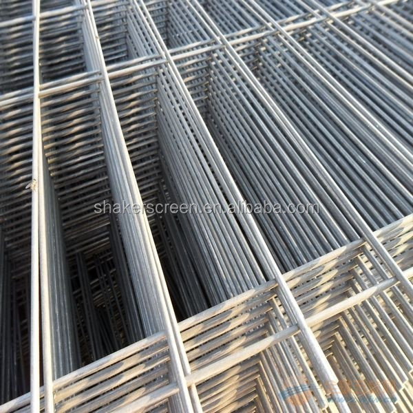 2x4 galvanized welded steel wire mesh panel