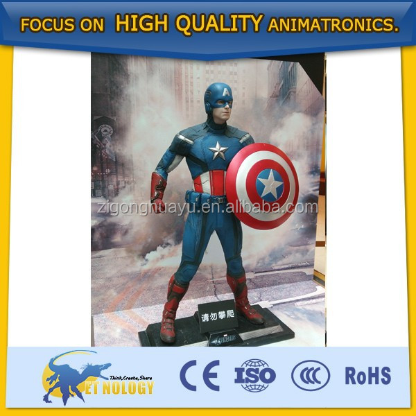 Super Heroes American Captain,Ironman,Thor for Exhibition/Show
