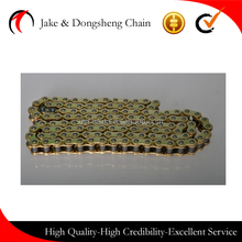 CHINA zhejiang jinhua yongkang dongsheng quality like qianjiang golden motorcycle chain motor transmission chain kits