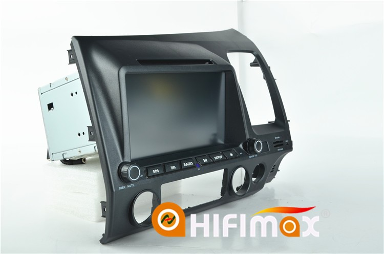 HIFIMAX Android 5.1.1 car dvd gps for Honda CIVIC multimedia for honda civic touch screen monitor Right Hand Drive