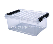 Factory direct sale high quality professional made clear plastic storage boxes