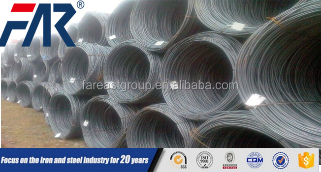 construction material high carbon alloy steel wire rod/ spring steel wire