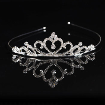 Rhinestones Crystal Princess Bridal Tiara Wedding Headband Hair Crown