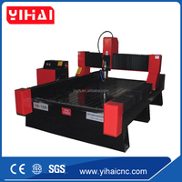 Professional 4 axis cnc router machine for stone engraving 1325, 3d stone carving cnc routers