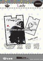 newest cross-stitch card case kit with high quality material made