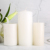 3x9 inch large white church pillar candle