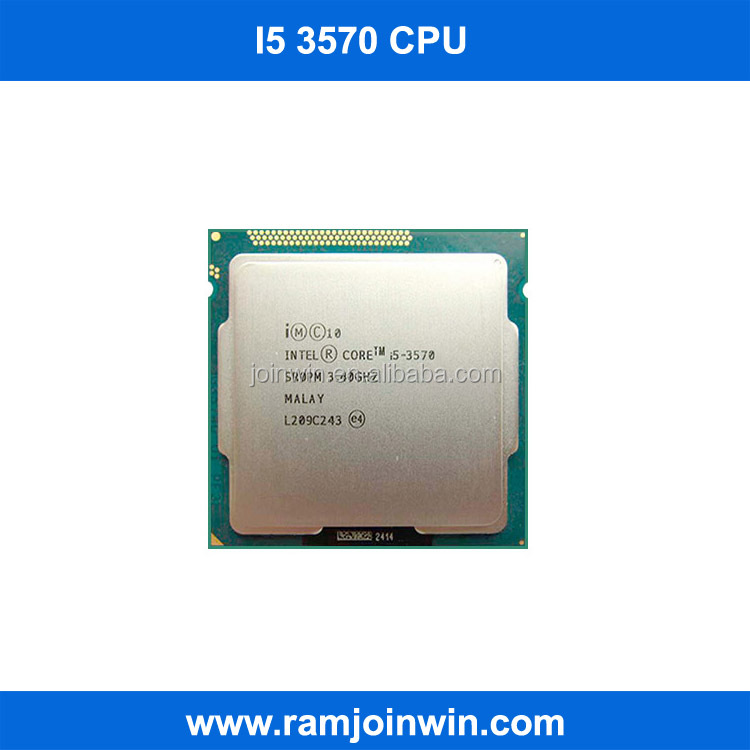 Wholesale market computer i5 3570 core i5 processor CPU
