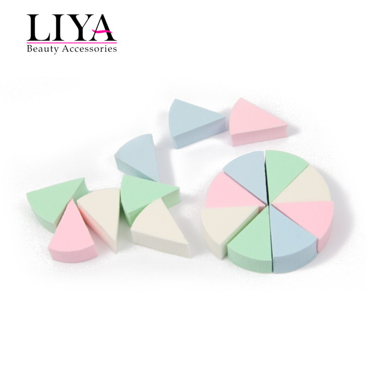 Professional cosmetic sponge applicator makeup disposable powder puff