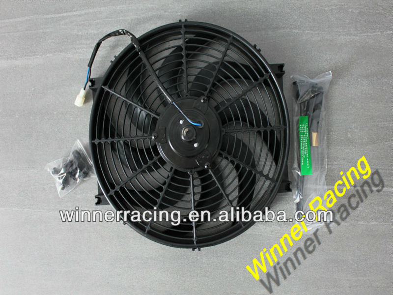 "14"" Slim Radiator Cooling Thermo Fan&Mounting Kit for"
