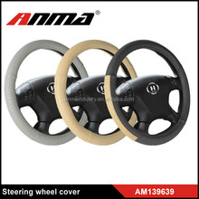 Best Quality PVC Car Steering Wheel Cover Anti Slip Auto Car Stitch On Wrap Cover