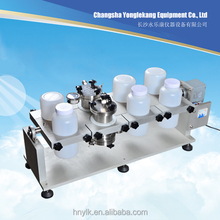 Laboratory mechanical vacuum volatile/toxic soild liquid gas reactor sealed mixer