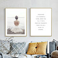 Your Mind Beach Posters And Prints Wall Art Canvas Painting Wall Pictures For Living Room Nordic Decoration