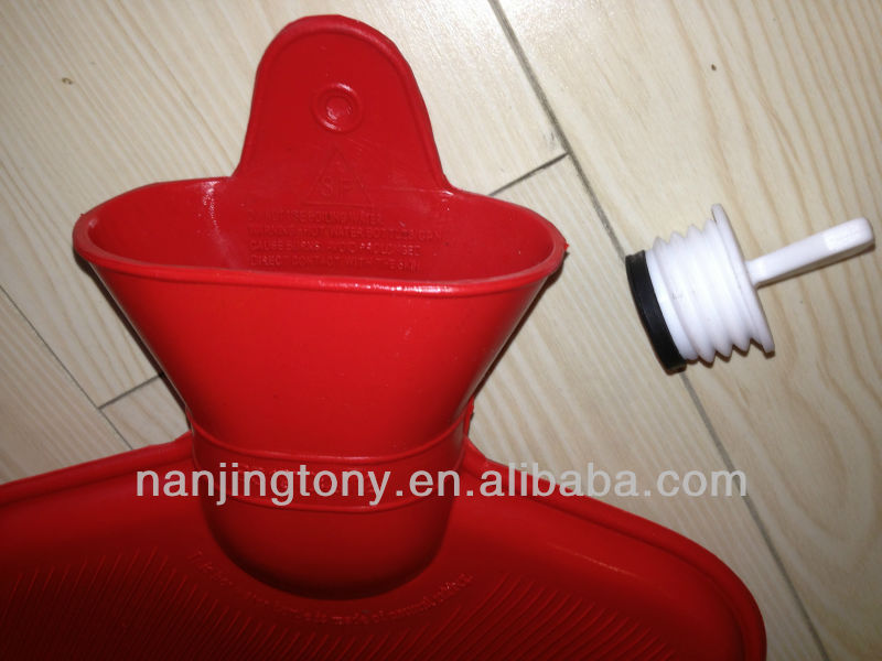 new zealand style 2000ml rubber hot water bottle