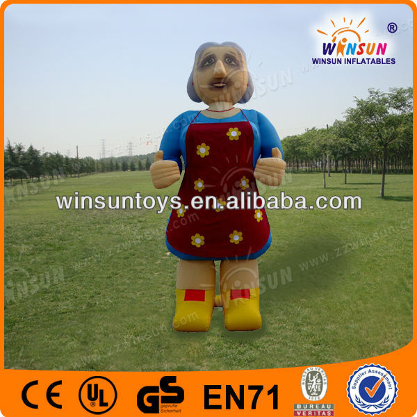 2012 inflatable Panda mascot for promotion,Inflatable Figures
