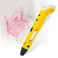 Promotional Intelligent 2016 Children 3d printer drawing pen with cheaper price