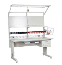 Customizable ESD electrical work bench