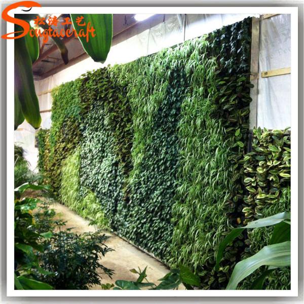 Garden Vertical Hanging Grass Green Wall Decor Plastic