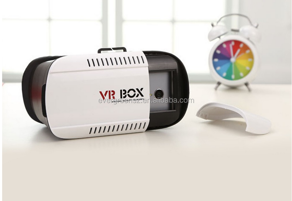 "Support 4.7"" - 6.0"" Phone 3D glasses in stock VR BOX passive 3d glasses for sale china bf movie"