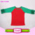 Manufacture Directly Toddler Raglan Sleeve Baseball Ruffle Sleeve Icing Ruffle Raglan Shirt