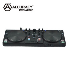 Professional club dj midi controller turntable with large scratch wheels DMD-800