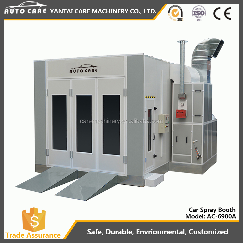 CE approved Spray booth/paint booth/bake oven
