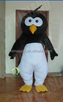 HI CE movie charact plush baby penguin mascot costume for adult,animal mascot costume with good quality