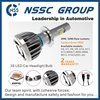 China manufacturer high power 38w 9005 led headlight cree xhp50 19w in Auto Lighting System