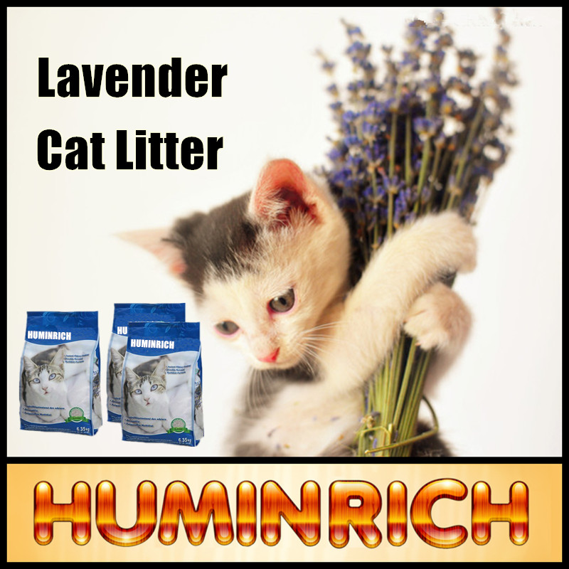 Huminrich Bentonite Cat Sand China Supplier Cat Litter Silica Gel