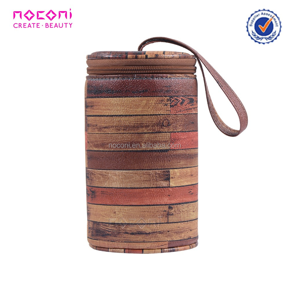 Noconi wholesale market bag durable custom small pu pvc zippered cosmetic pouch