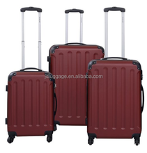 BEIBYE china manufacturer red color trolley case, suitcase, luggage