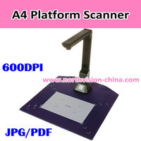 Table scanner, 900DPI, Max A4, JPG/PDF,Support TF Card,Scanning Status Display