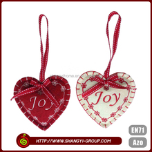 High quality fashion design outdoor heart shaped christmas decoration sale
